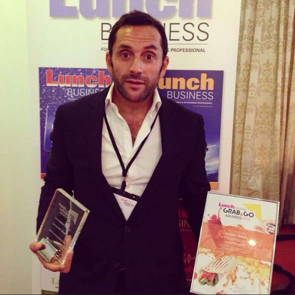 Comptoir Libanais wins best innovation at Lunch Business Awards 2014